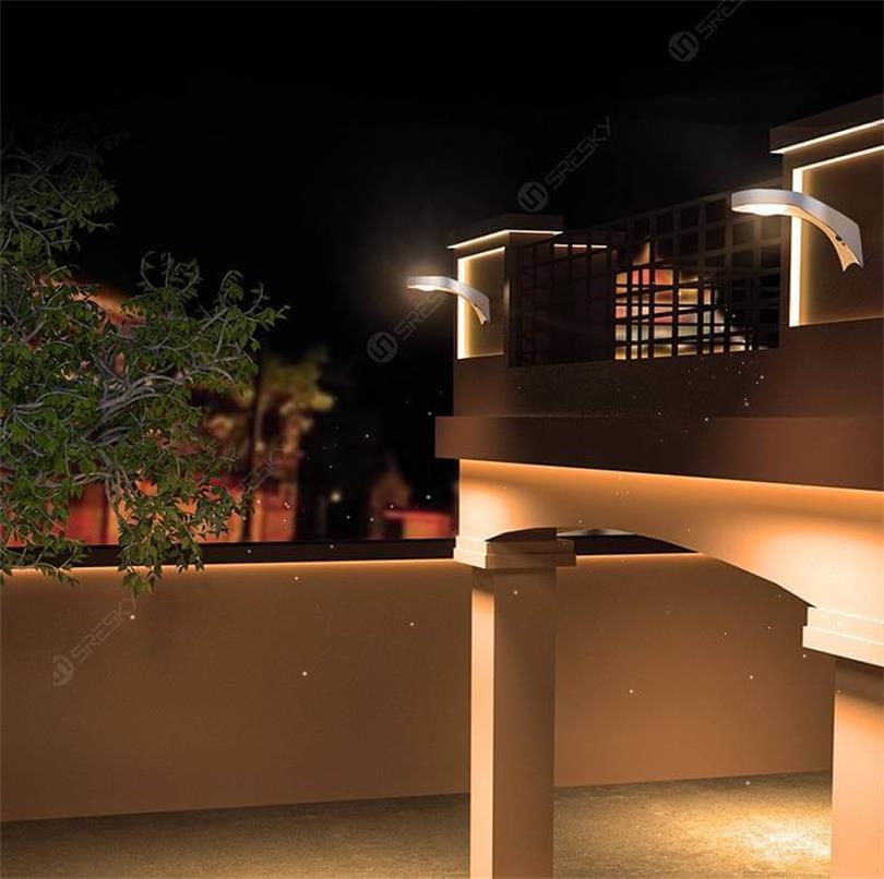 Sresky - Solar Wall Light - Tucano series SWL-06 PRO Solar Wall Light