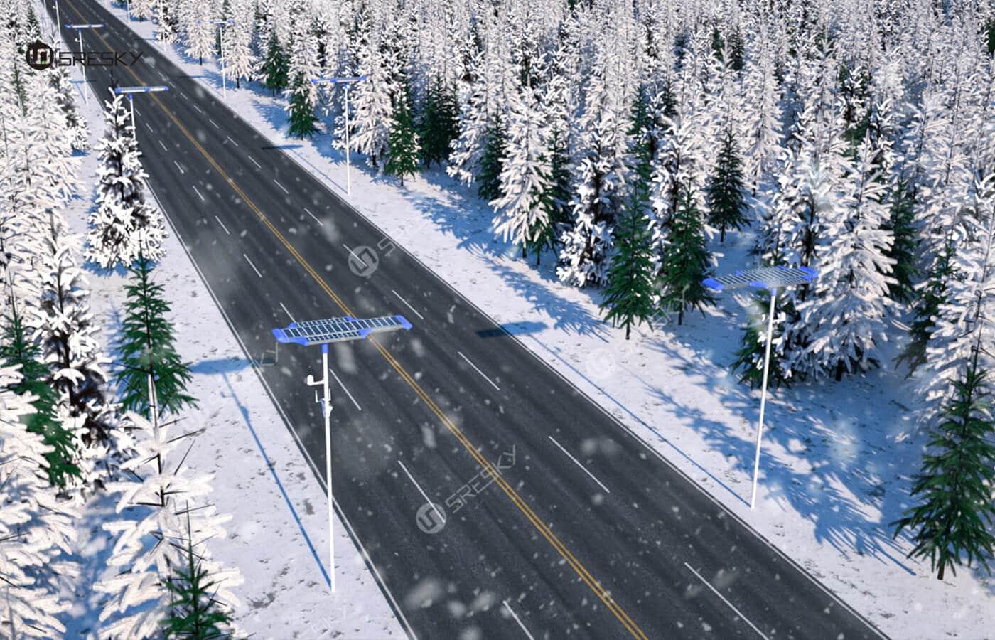 Sresky - Installation effect of street road