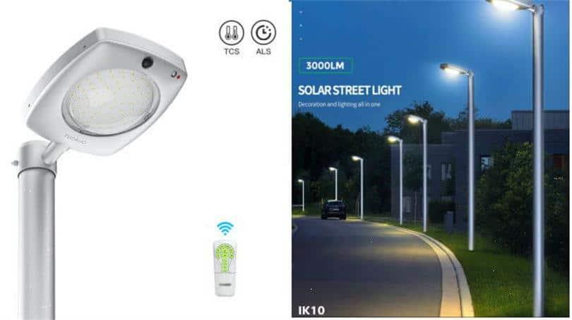 Sresky - solar street light - Model tucano series SCL-03 solar street light