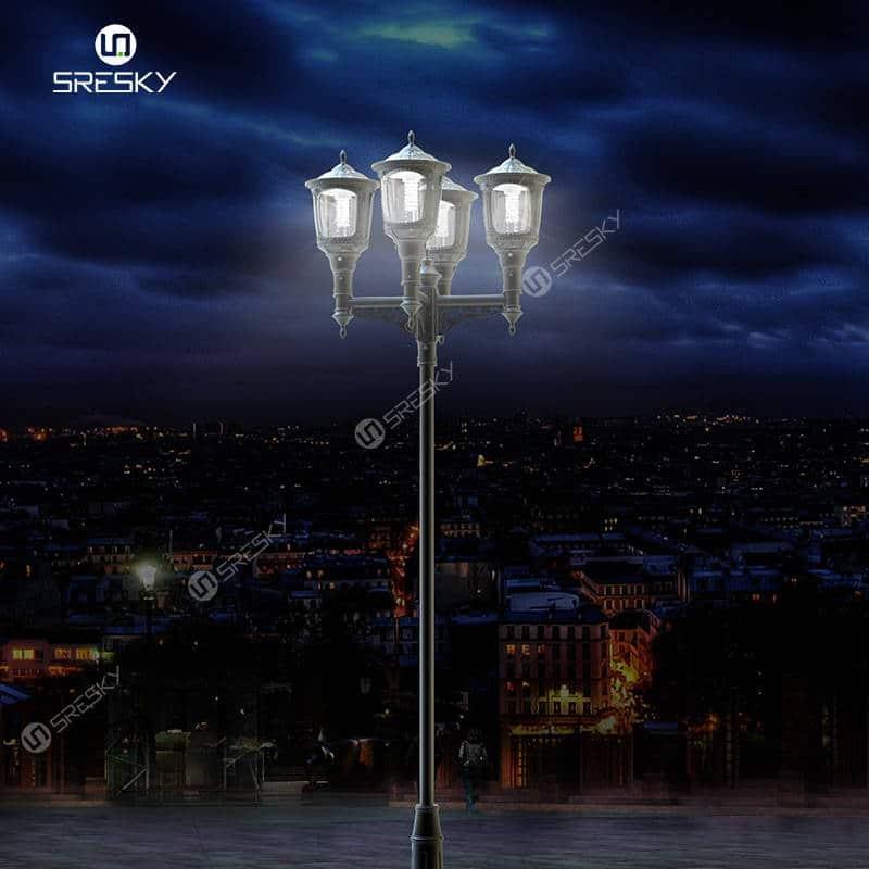 Sresky - Solar garden light - Honor series SLL-10M 3000 lumens Solar Garden Lights