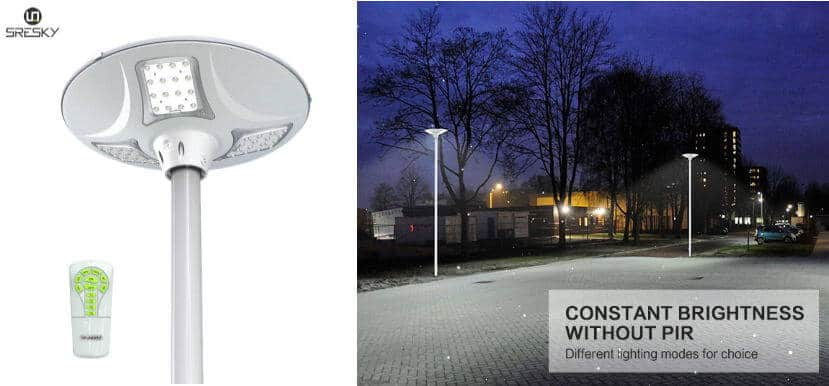 Sresky - solar landscape light - The best 6 modern outdoor solar landscape lights