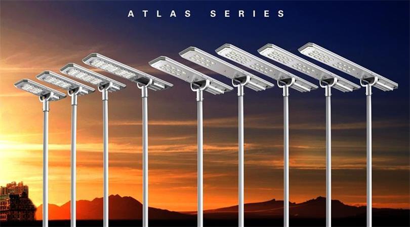 Sresky - solar street light - Atlas Series solar street light